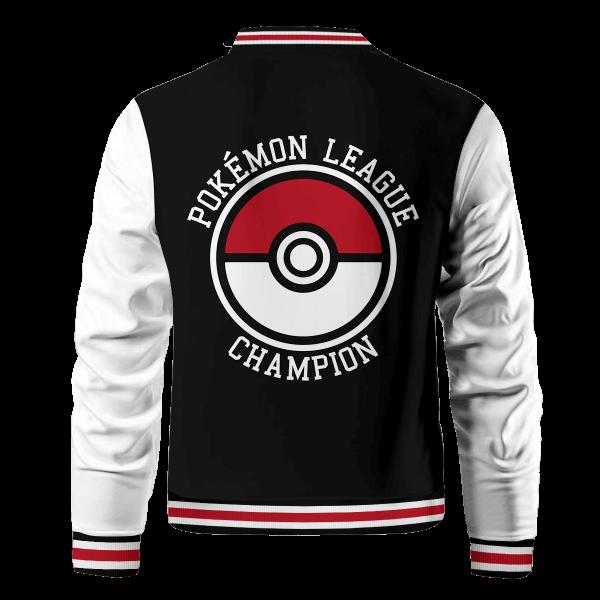 pokemon league bomber jacket 581180 - Anime Jacket