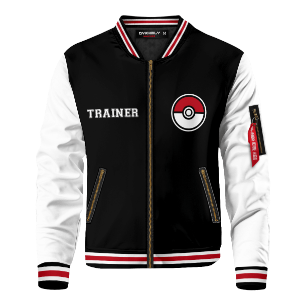 pokemon league bomber jacket 847659 - Anime Jacket
