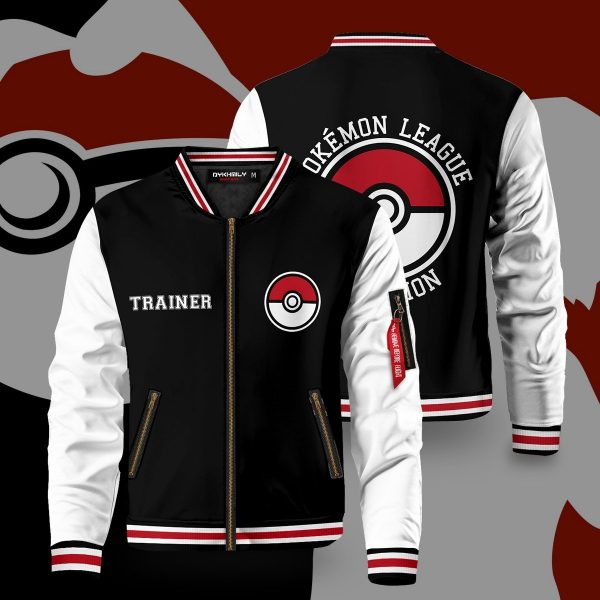 pokemon league bomber jacket 911002 - Anime Jacket