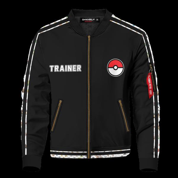 pokemon league v2 bomber jacket 462329 - Anime Jacket