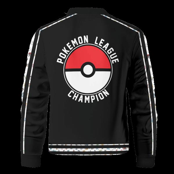 pokemon league v2 bomber jacket 484746 - Anime Jacket