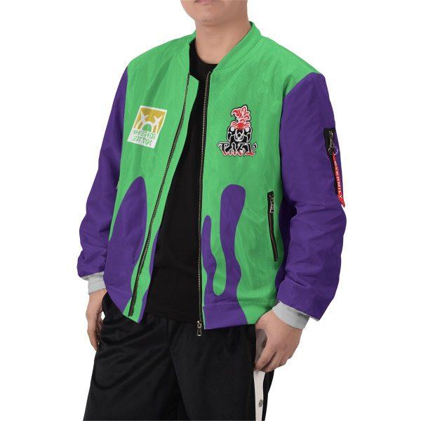 pokemon poison uniform bomber jacket 233922 - Anime Jacket
