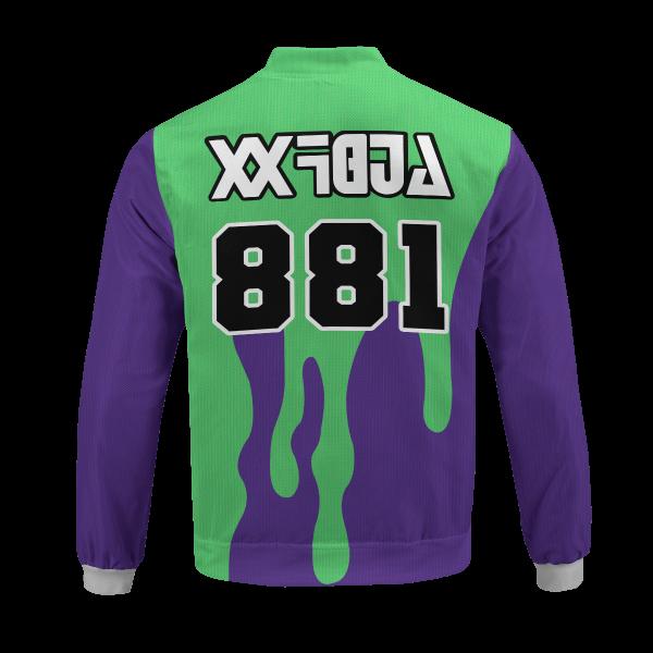 pokemon poison uniform bomber jacket 361868 - Anime Jacket