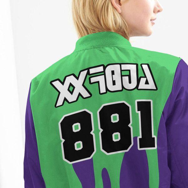pokemon poison uniform bomber jacket 981078 - Anime Jacket