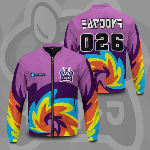 pokemon psychic uniform bomber jacket 165945 - Anime Jacket