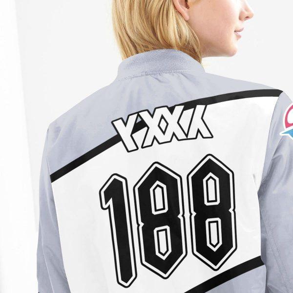 pokemon rock uniform bomber jacket 135739 - Anime Jacket
