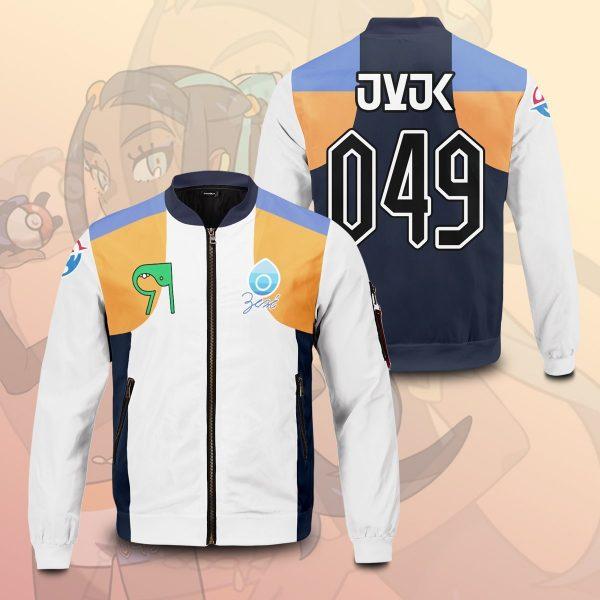 pokemon water uniform bomber jacket 667970 - Anime Jacket