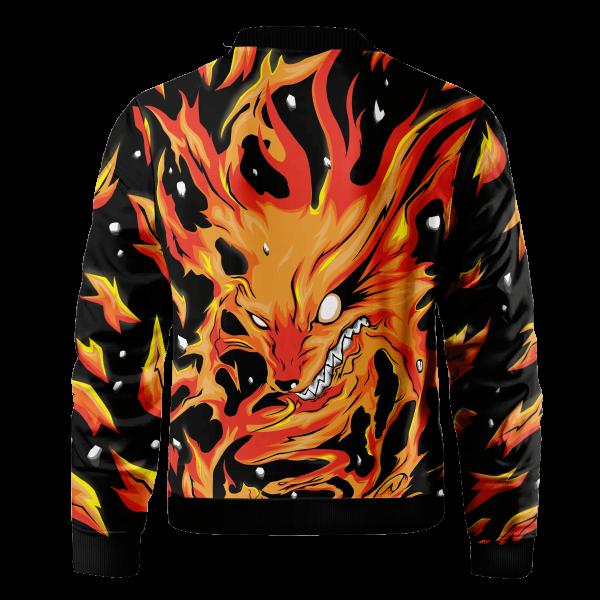 raging kurama bomber jacket 507426 - Anime Jacket