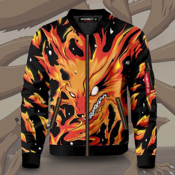 raging kurama bomber jacket 565952 - Anime Jacket