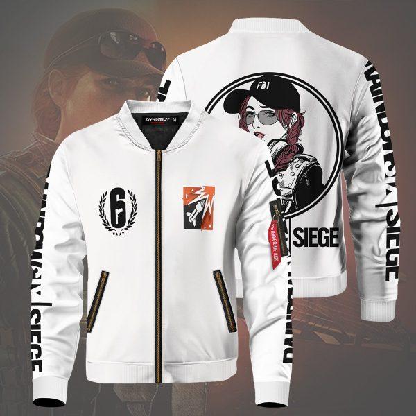 rainbow six siege ash bomber jacket 144817 - Anime Jacket