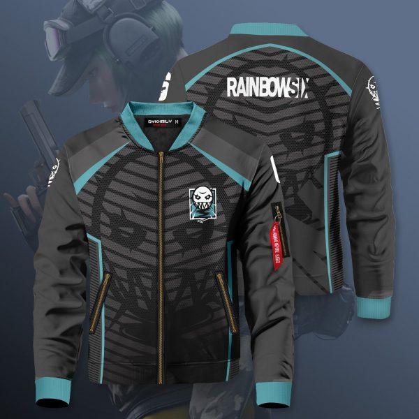 rainbow six siege ela bomber jacket 366782 - Anime Jacket