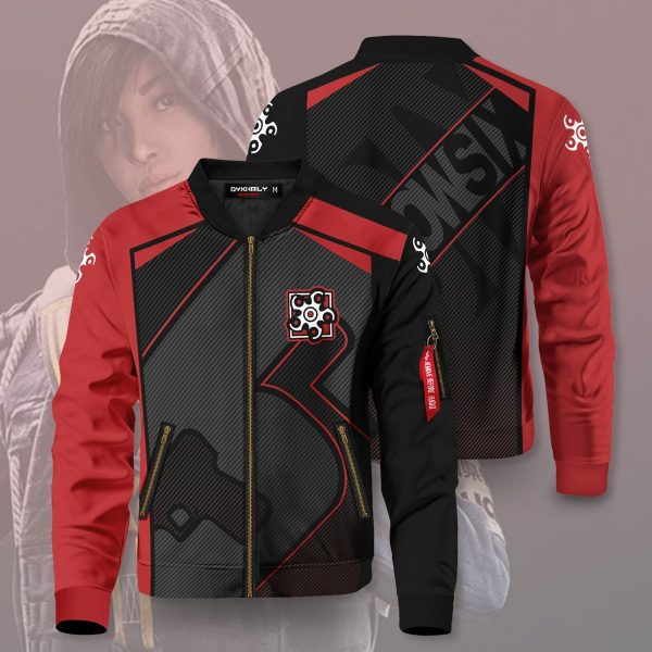 rainbow six siege hibana bomber jacket 514174 - Anime Jacket