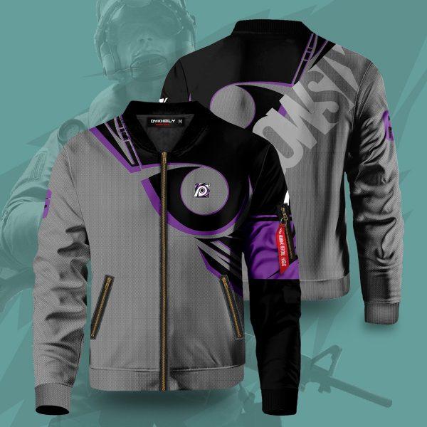 rainbow six siege jackal bomber jacket 661265 - Anime Jacket
