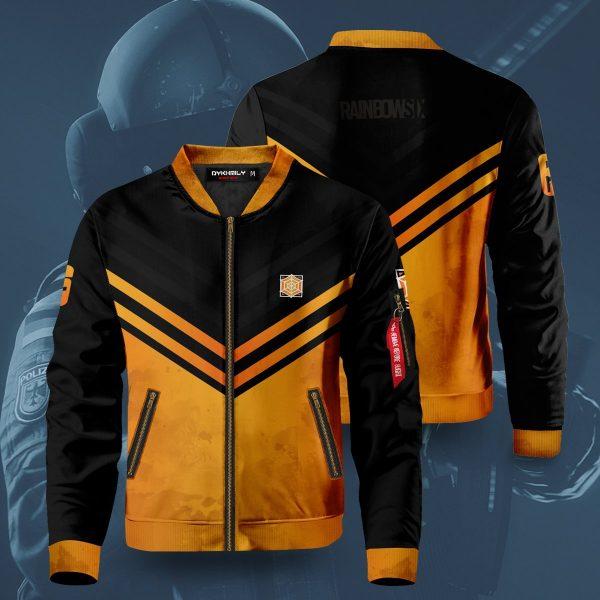 rainbow six siege jager bomber jacket 235877 - Anime Jacket