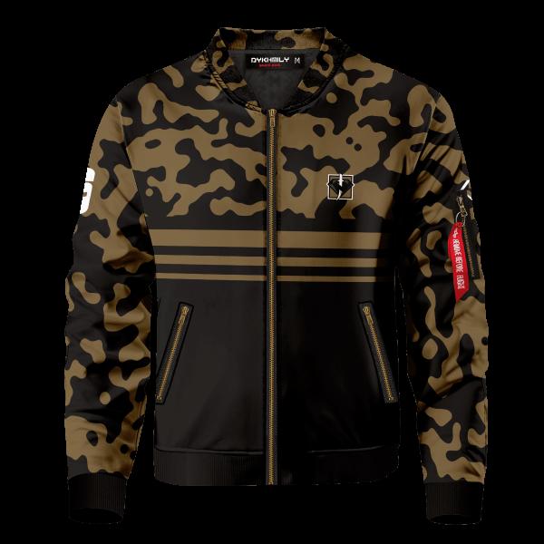rainbow six siege kaid bomber jacket 109261 - Anime Jacket