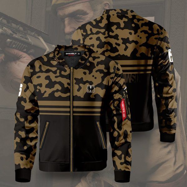 rainbow six siege kaid bomber jacket 554206 - Anime Jacket