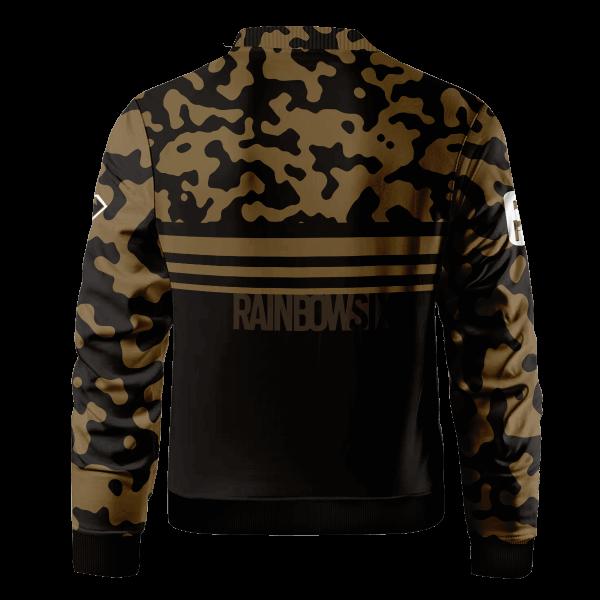 rainbow six siege kaid bomber jacket 811729 - Anime Jacket