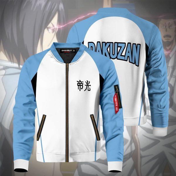 rakuzan bomber jacket 733777 - Anime Jacket