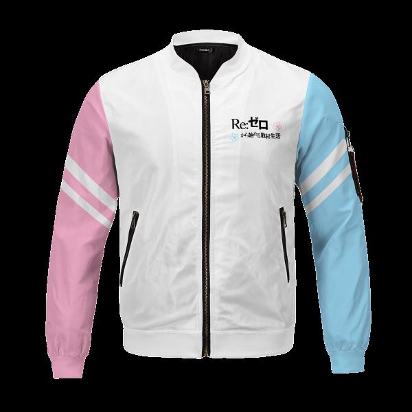 re zero rem ram bomber jacket 255759 - Anime Jacket