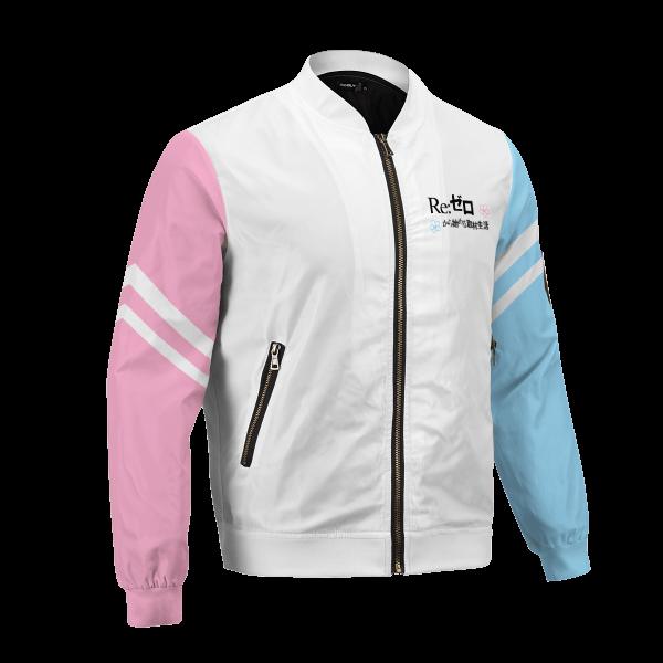 re zero rem ram bomber jacket 419432 - Anime Jacket