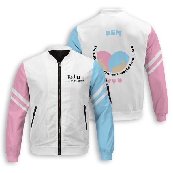 re zero rem ram bomber jacket 746664 - Anime Jacket