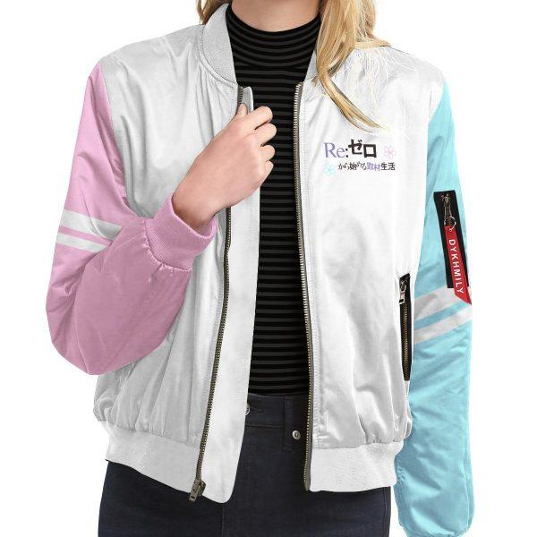 re zero rem ram bomber jacket 844193 - Anime Jacket
