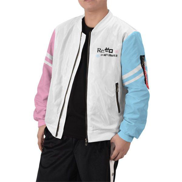 re zero rem ram bomber jacket 943500 - Anime Jacket