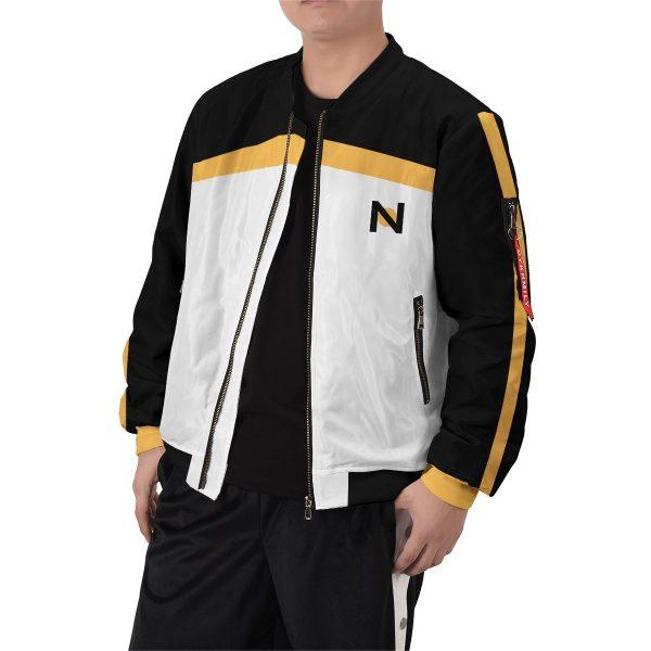 re zero subaru natsuki bomber jacket 211518 - Anime Jacket