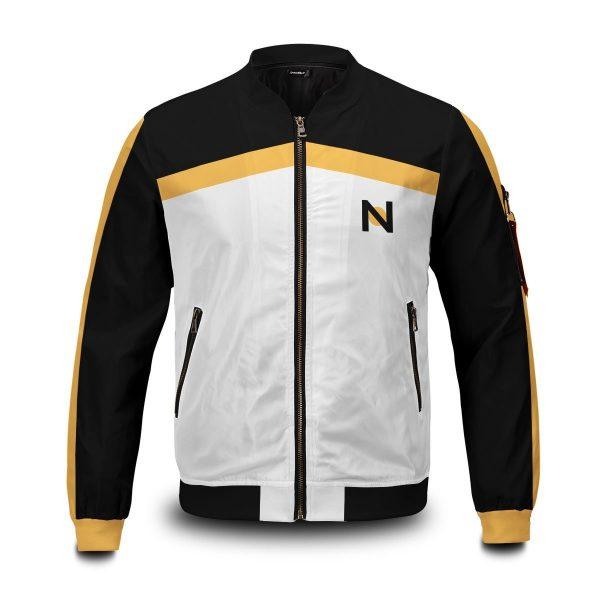 re zero subaru natsuki bomber jacket 334263 - Anime Jacket