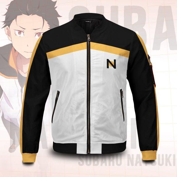 re zero subaru natsuki bomber jacket 481843 - Anime Jacket