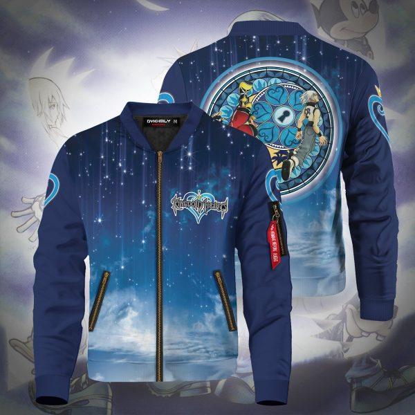 riku and sora bomber jacket 276115 - Anime Jacket