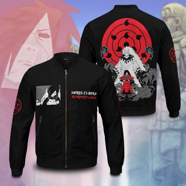 sage mode madara bomber jacket 950202 - Anime Jacket