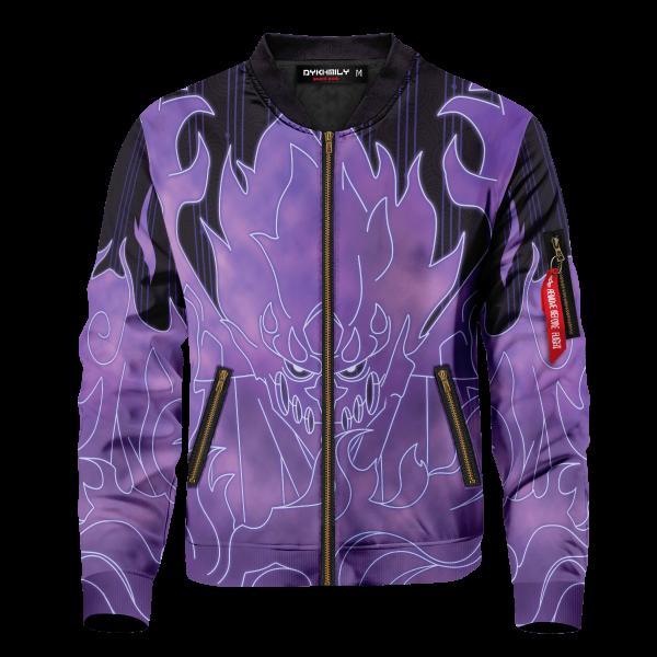 sasuke armor bomber jacket 540207 - Anime Jacket