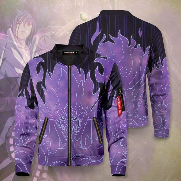 sasuke armor bomber jacket 973953 - Anime Jacket