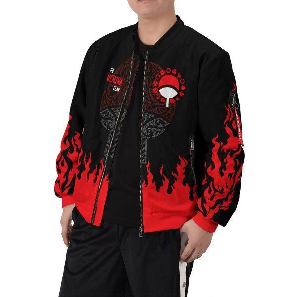 scorching uchiha bomber jacket 206419 - Anime Jacket