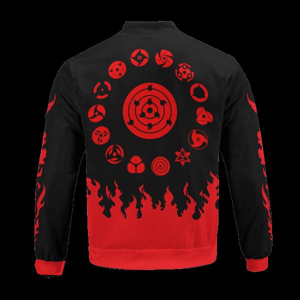 scorching uchiha bomber jacket 299715 - Anime Jacket