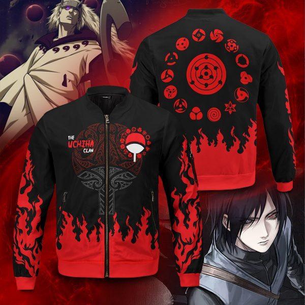 scorching uchiha bomber jacket 376144 - Anime Jacket
