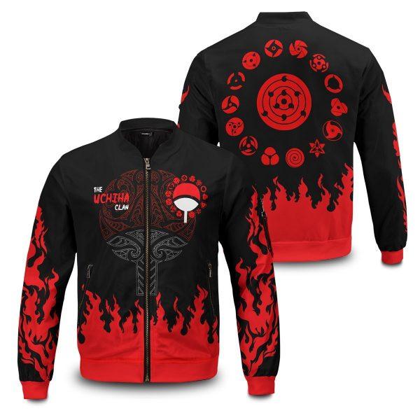 scorching uchiha bomber jacket 415605 - Anime Jacket