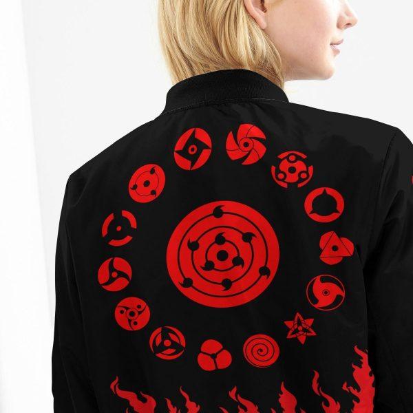 scorching uchiha bomber jacket 480601 - Anime Jacket