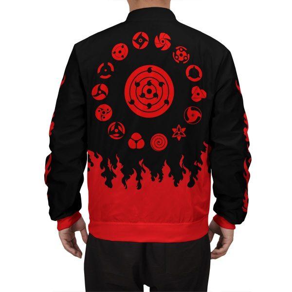 scorching uchiha bomber jacket 486608 - Anime Jacket