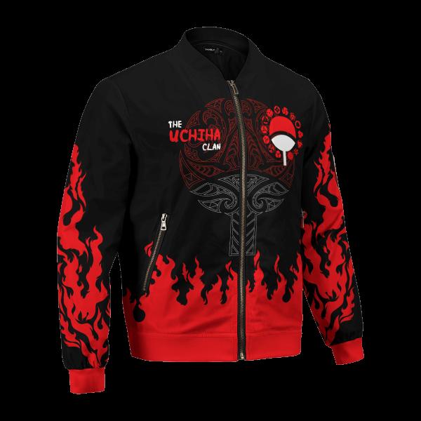scorching uchiha bomber jacket 625749 - Anime Jacket