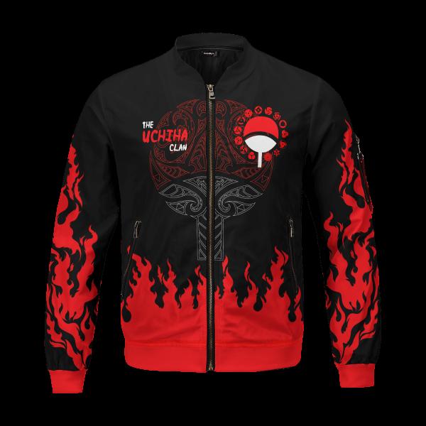 scorching uchiha bomber jacket 892766 - Anime Jacket