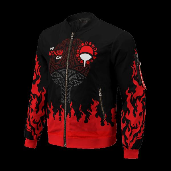 scorching uchiha bomber jacket 943600 - Anime Jacket