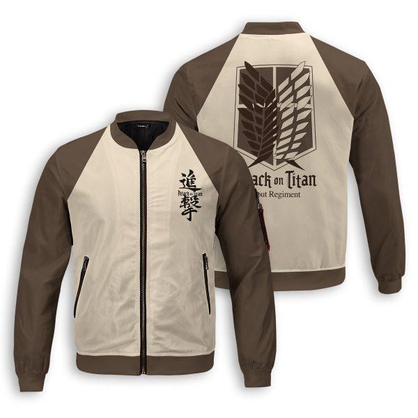 scout regiment bomber jacket 215009 - Anime Jacket