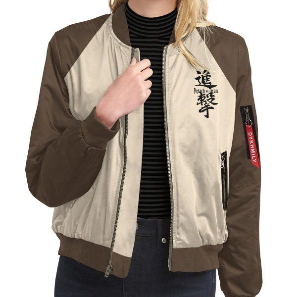 scout regiment bomber jacket 460061 - Anime Jacket