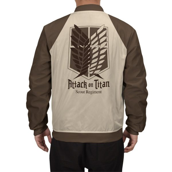 scout regiment bomber jacket 597686 - Anime Jacket