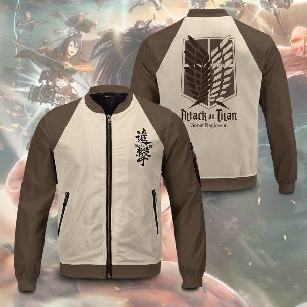 scout regiment bomber jacket 994507 - Anime Jacket