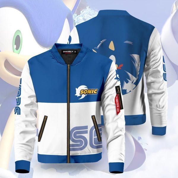 sega sonic bomber jacket 407455 - Anime Jacket