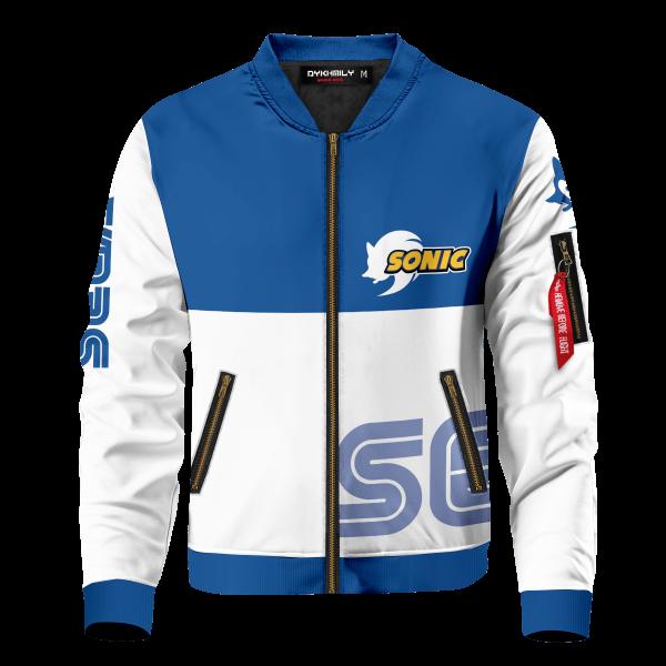 sega sonic bomber jacket 877482 - Anime Jacket