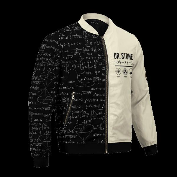 senku science bomber jacket 178018 - Anime Jacket
